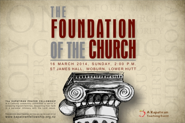 KPF Foundation of the Church Flier