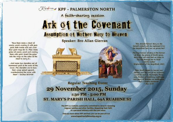 Ark of the covenant teachings FB flyers